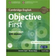 Objective First 4th Edition Student's Book with answers with CD-ROM