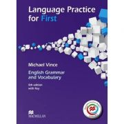 Language Practice for First - 5th edition with Key and MPO ( Michael Vince )