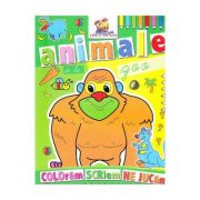 Animale de la Zoo - Coloram, scriem, ne jucam