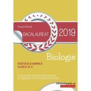 Biologie Bacalaureat 2019 - Vegetala si animala pentru clasele IX-X. 60 de teste, dupa modelul M. E. N. cu bareme de evaluare si notare - Daniela Firicel - Ed. Paralela 45