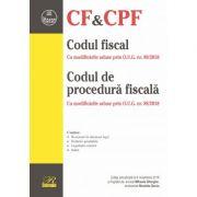 Codul fiscal cu modificarile aduse prin O. U. G. nr. 89/2018. Codul de procedura fiscala cu modificarile aduse prin O. U. G. nr. 88/2018. Editie actualizata la 4 noiembrie 2018 - Mihaela GHERGHE, Nicoleta GOCIU