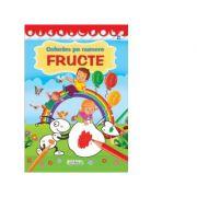 Coloram pe numere - Fructe