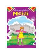 Coloram povestile bunicii. Heidi