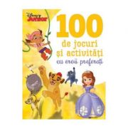 Disney Junior. 100 de jocuri si activitati cu eroii preferati - Disney