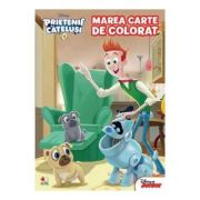 Prietenii catelusi. Marea carte de colorat - Disney