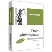Drept administrativ. Volumul I. Editia a 2-a