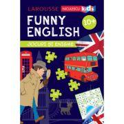 FUNNY ENGLISH. Jocuri si enigme (10+) - Sandra Lebrun