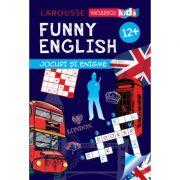 FUNNY ENGLISH. Jocuri si enigme (12+) - Sandra Lebrun