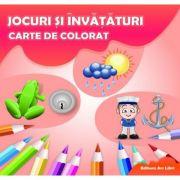 Jocuri si invataturi - Carte de colorat