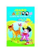 Jumbo Cartoon 4 - Carte de colorat
