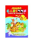 Jumbo Cartoon 3 - Carte de colorat