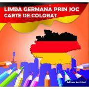Limba germana prin joc - Carte de colorat