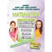 Matematica, exercitii si probleme pentru clasa a VIII-a, semestrul I - Delia Schneider