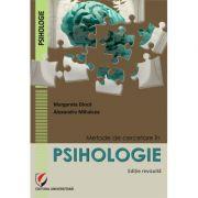Metode de cercetare in psihologie - Margareta Dinca