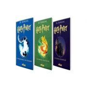Pachet Harry Potter (volumele 1-3) - J. K. Rowling