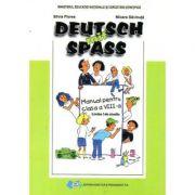 Manual pentru Limba germana, clasa a VIII-a L1, Deutsch mit Spass - Silvia Florea