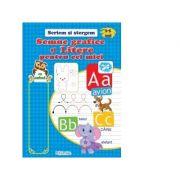 Semne grafice si litere pentru cei mici 3-5 ani