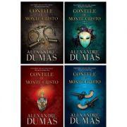 Set carti Contele de Monte-Cristo (4 Volume)