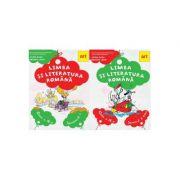 SET LIMBA SI LITERATURA ROMANA. Manual pentru clasa a IV-a. (cu CD) - Alina Radu, Roxana Jeler