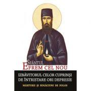 Sfantul Efrem cel Nou - Izbavitorul celor cuprinsi de intristare ori depresie. Editie ingrijita de L. S. Desartovici