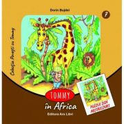 Tommy in Africa. Contine puzzle din abtibilduri