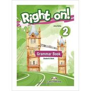 Curs Limba Engleza Right On 2 Grammar Book - Jenny Dooley