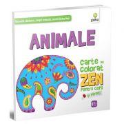 Animale. Colectia Carti de colorat ZEN