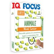 Animale. Nivel Junior. Colectia IQ focus