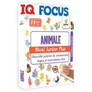 Animale. Nivel Junior Plus. Colectia IQ focus