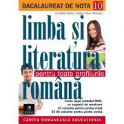 Bacalaureat. Limba si literatura romana - Dragos Silviu Paduraru, Dumitrita Stoica - Ed. Cartea Romaneasca