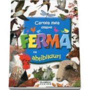 Cartea mea despre Ferma cu abtibillduri - Flamingo Junior