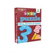 Cifre, forme si culori. Colectia Bebe Puzzle