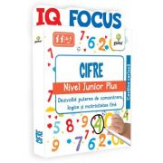 Cifre. Nivel Junior Plus. Colectia IQ focus