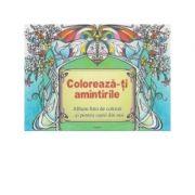 Coloreaza-ti amintirile - album foto de colorat