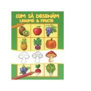 Cum sa desenam fructe si legume