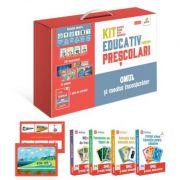 Kit educativ pentru prescolari. Omul si mediul inconjurator