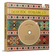 Legende Romanesti - Contine 2 CD-uri. Ilustratii de Nicolae Tonita