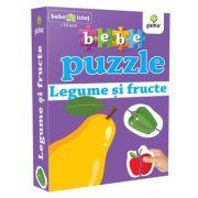 Legume si fructe. Colectia Bebe Puzzle