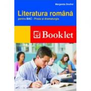 Literatura romana pentru BAC. Proza si dramaturgia - Onofrei Margareta
