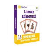Literele alfabetului. Comunicare si dezvoltare personala (29 de flashcarduri)