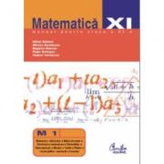 Matematica M1. Manual pentru clasa a XI-a - Mihai Baluna