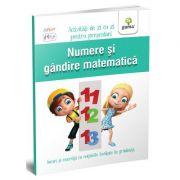 Numere si gandire matematica - Activitati de zi cu zi pentru prescolari