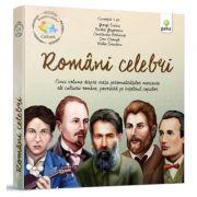 Pachet Cultura - Romani celebri - Cinci volume despre viata personalitatilor marcante ale culturii romane, povestite pe intelesul copiilor