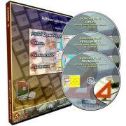 Pachet Geometrie Plana. Aplicatie pentru predare asistata de calculator. 3 CD-uri