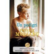 Un pedigri - Patrick Modiano