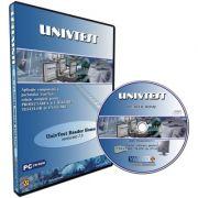 UnivTest Reader Home. Aplicatie completa a pachetului UnivTest, solutie completa pentru proiectarea si utilizarea testelor de evaluare. CD - Licenta multi-user