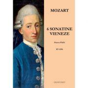 6 sonatine vieneze pentru pian. KV 439b - Mozart