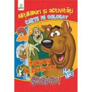 Abtibilduri si activitati cu Scooby-Doo! - Monstri in libertate - Carte de colorat