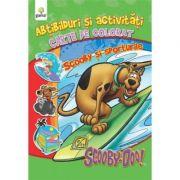 Abtibilduri si activitati cu Scooby-Doo! - Scooby si sporturile - Carte de colorat