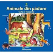 Animale din padure - Carte cu ferestruici